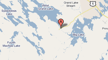 Grand Lake Stream Maine Map.Grand Lake Stream Paul Doiron
