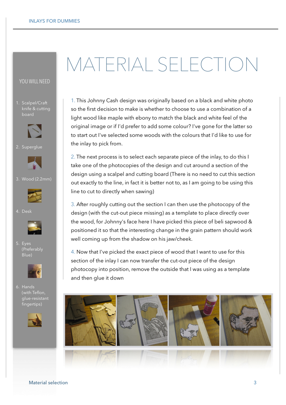 3 MATERIAL SELECTION