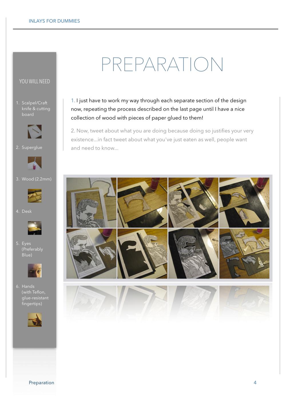 4 PREPARATION