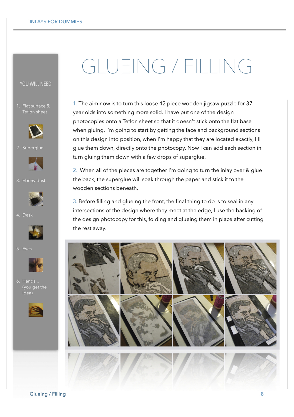 8 GLUEING / FILLING