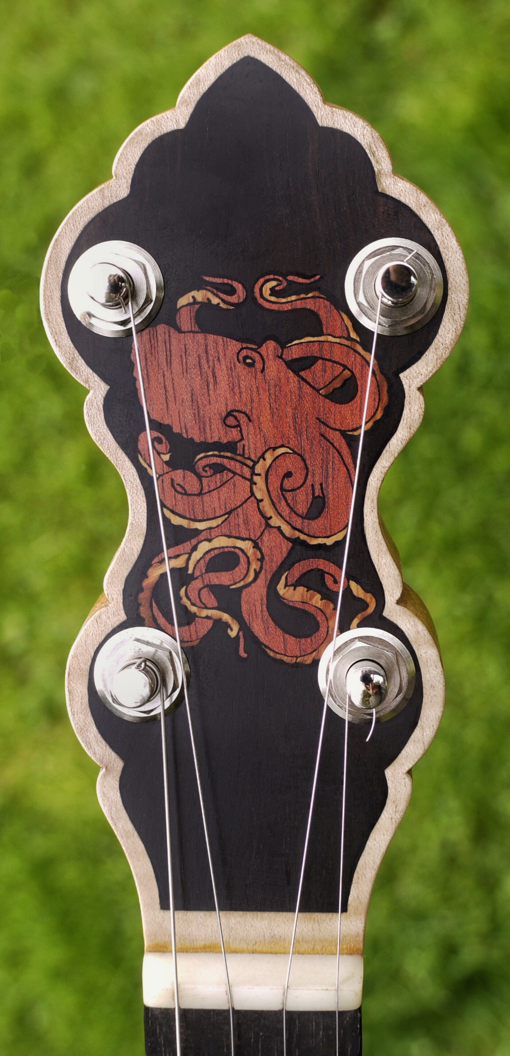 OCTOPUS BANJO HEADSTOCK