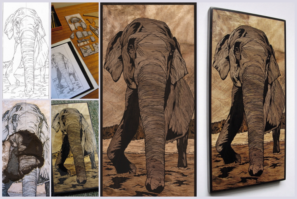 Elephant Inlay May 2016