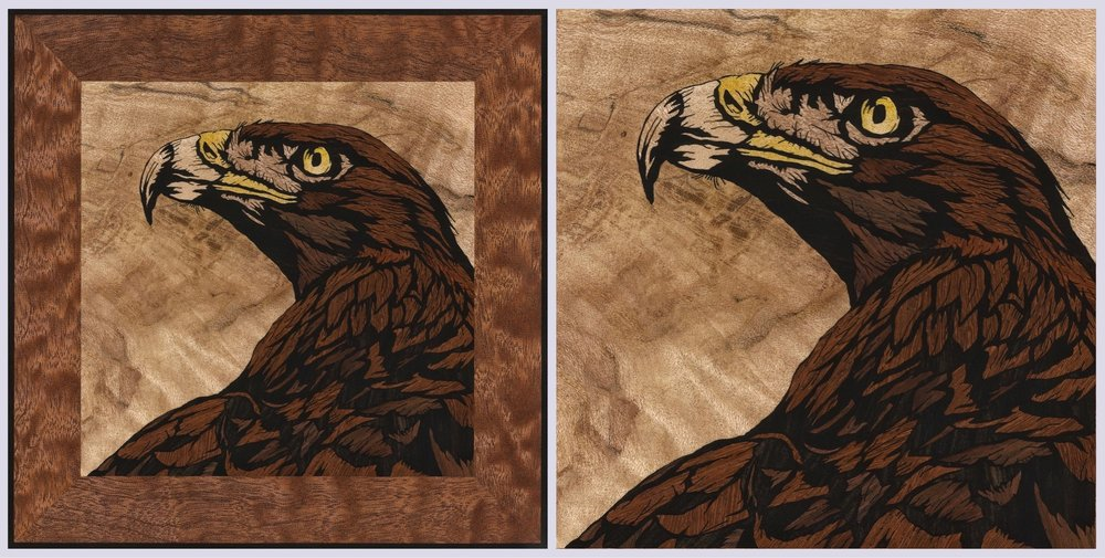 Golden Eagle inlay