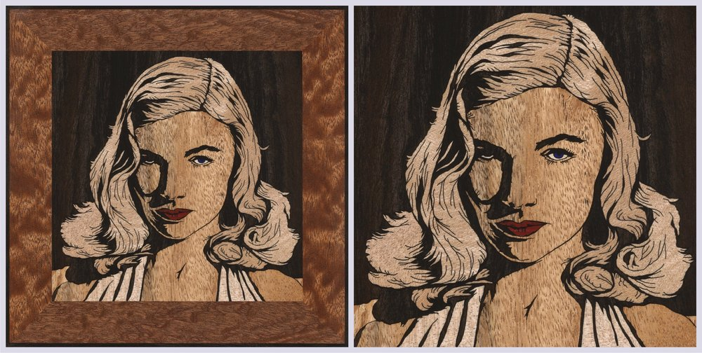 Veronica Lake Square 2 (x2)