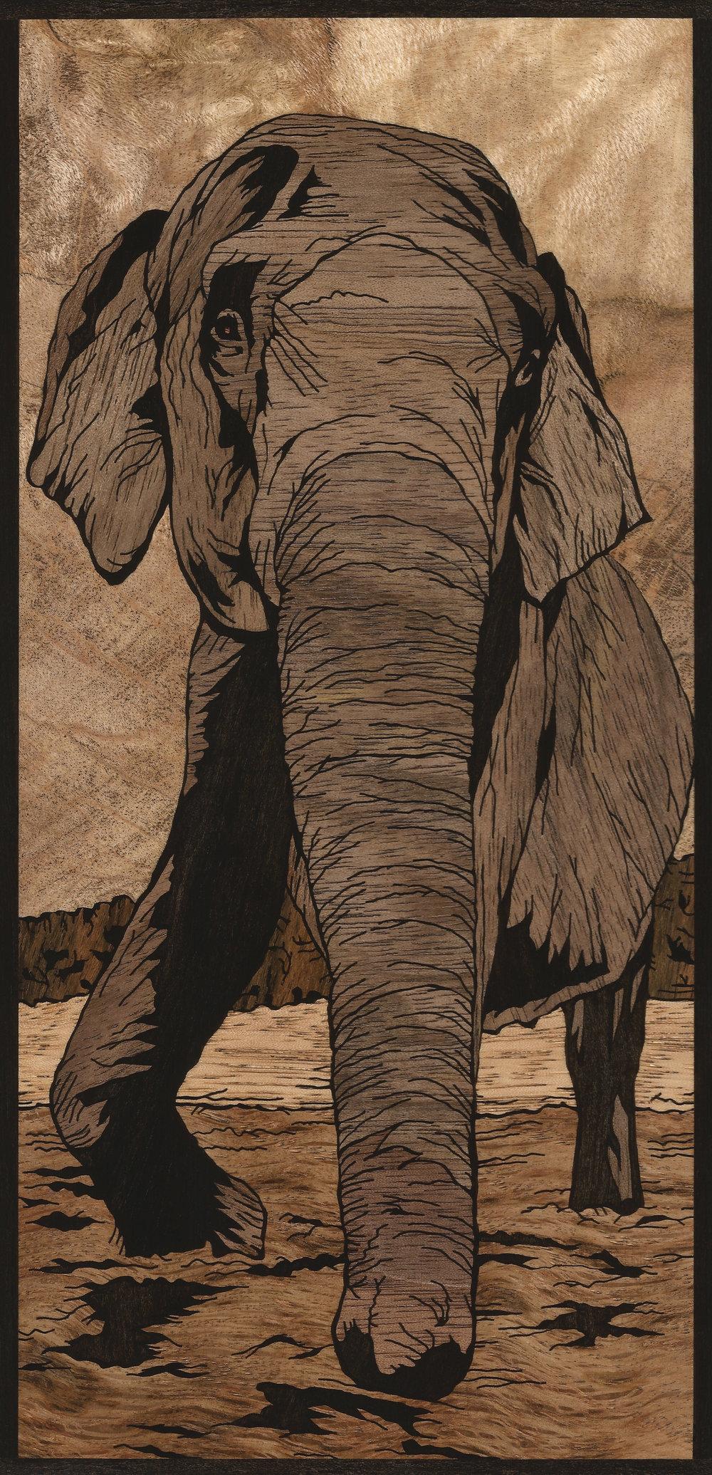 Indian Elephant Inlay
