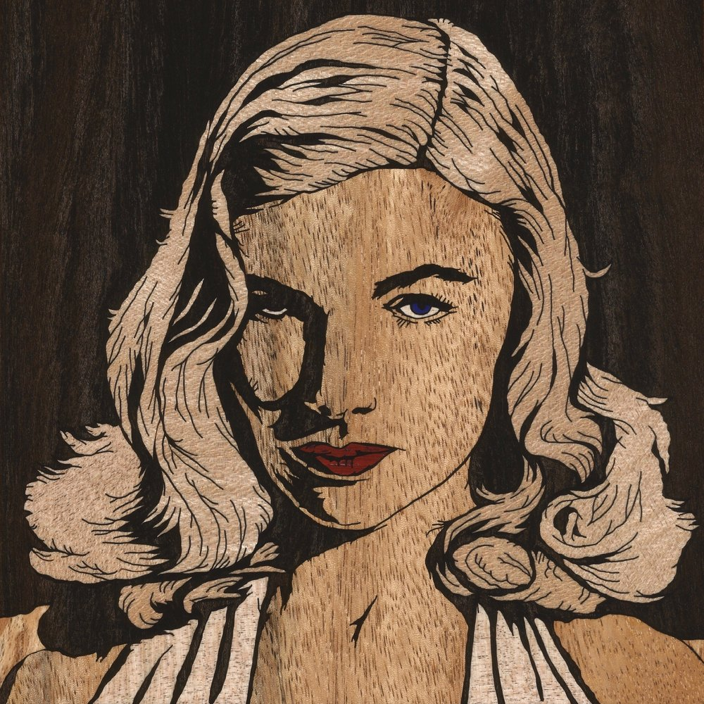 VERONICA LAKE 2 INLAY (square)