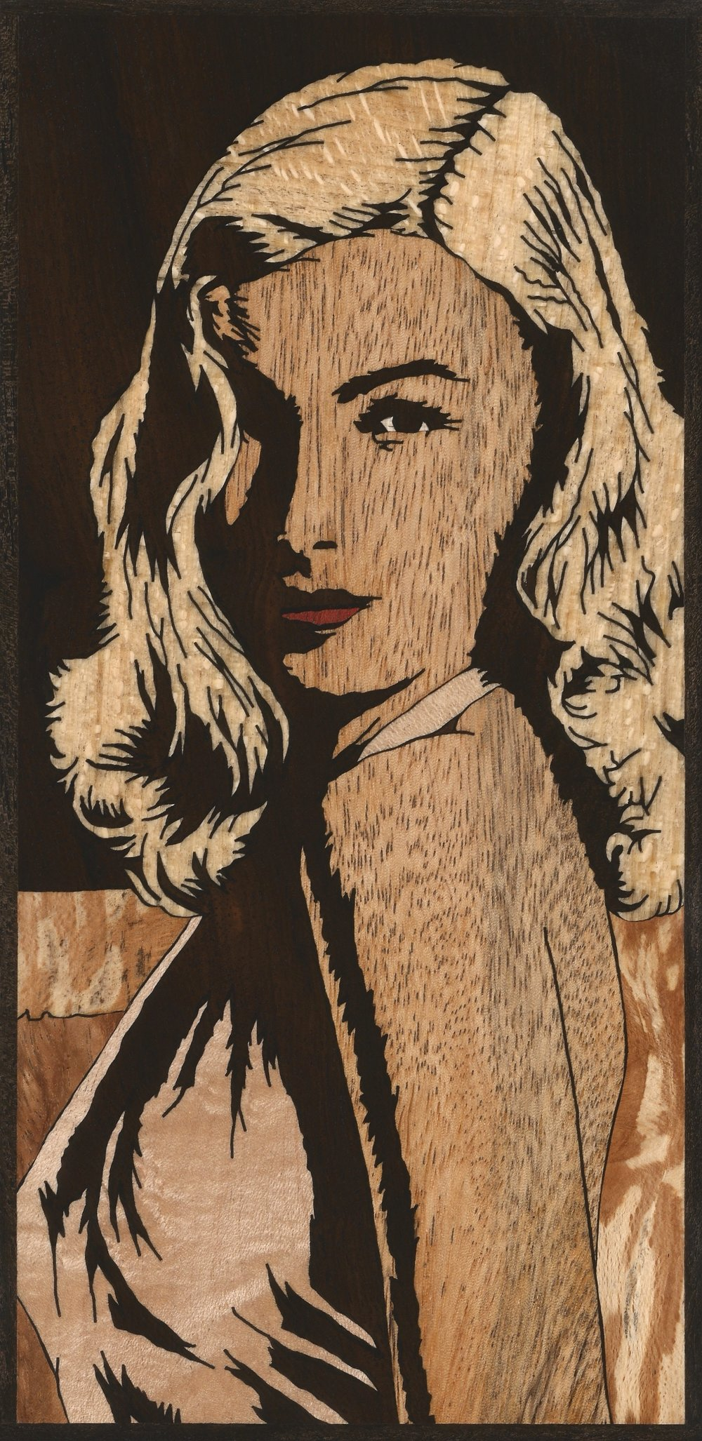 VERONICA LAKE INLAY