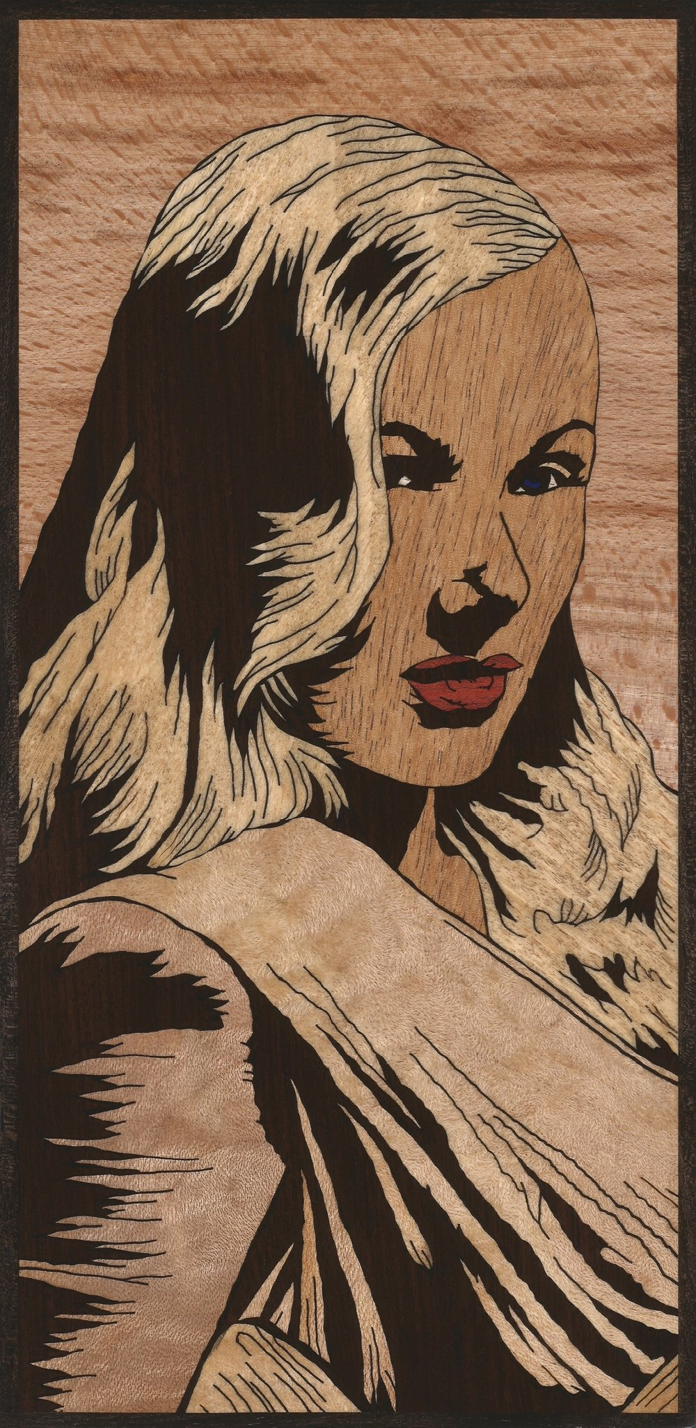 VERONICA LAKE 2 INLAY