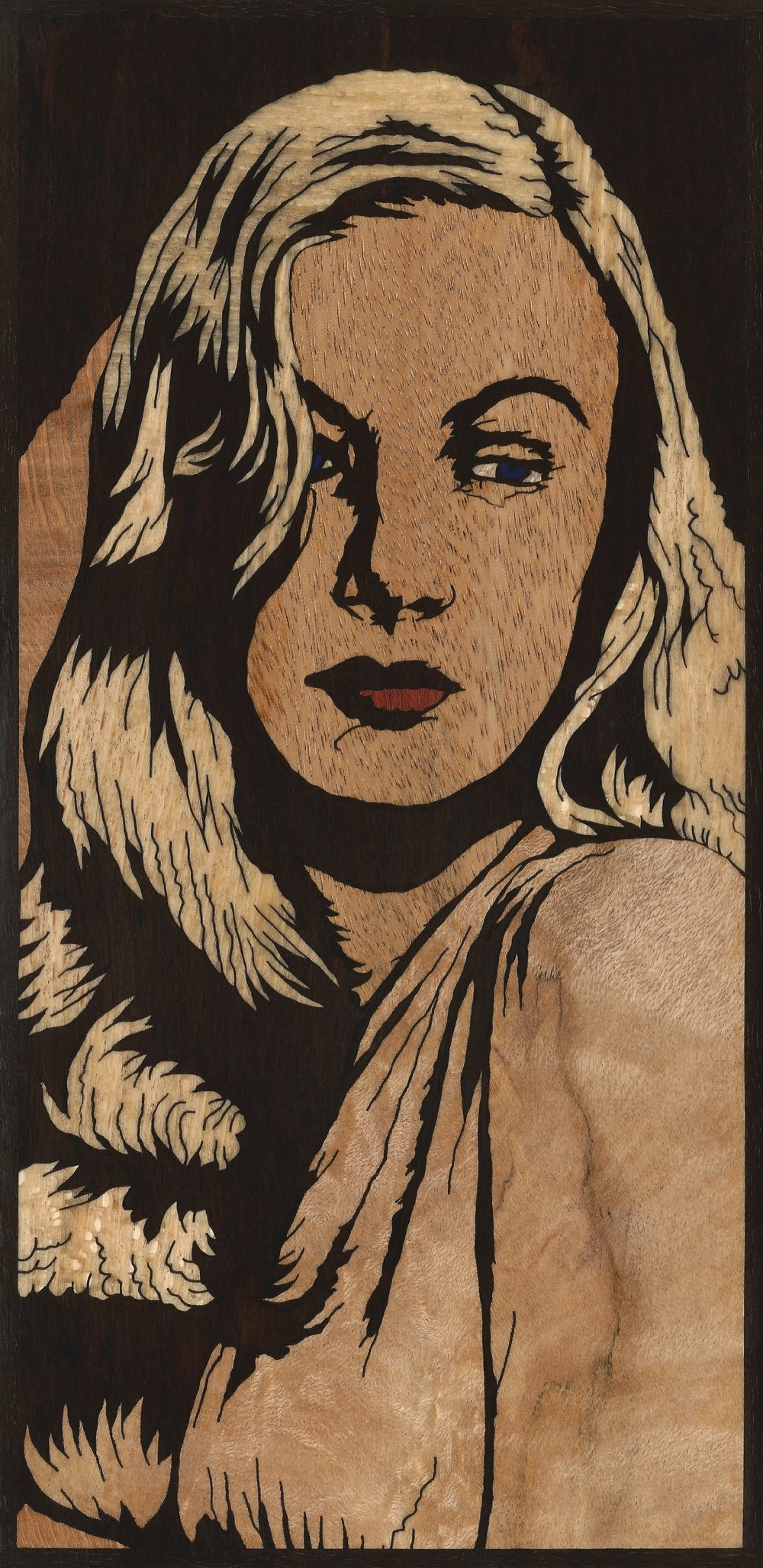 VERONICA LAKE 3 INLAY