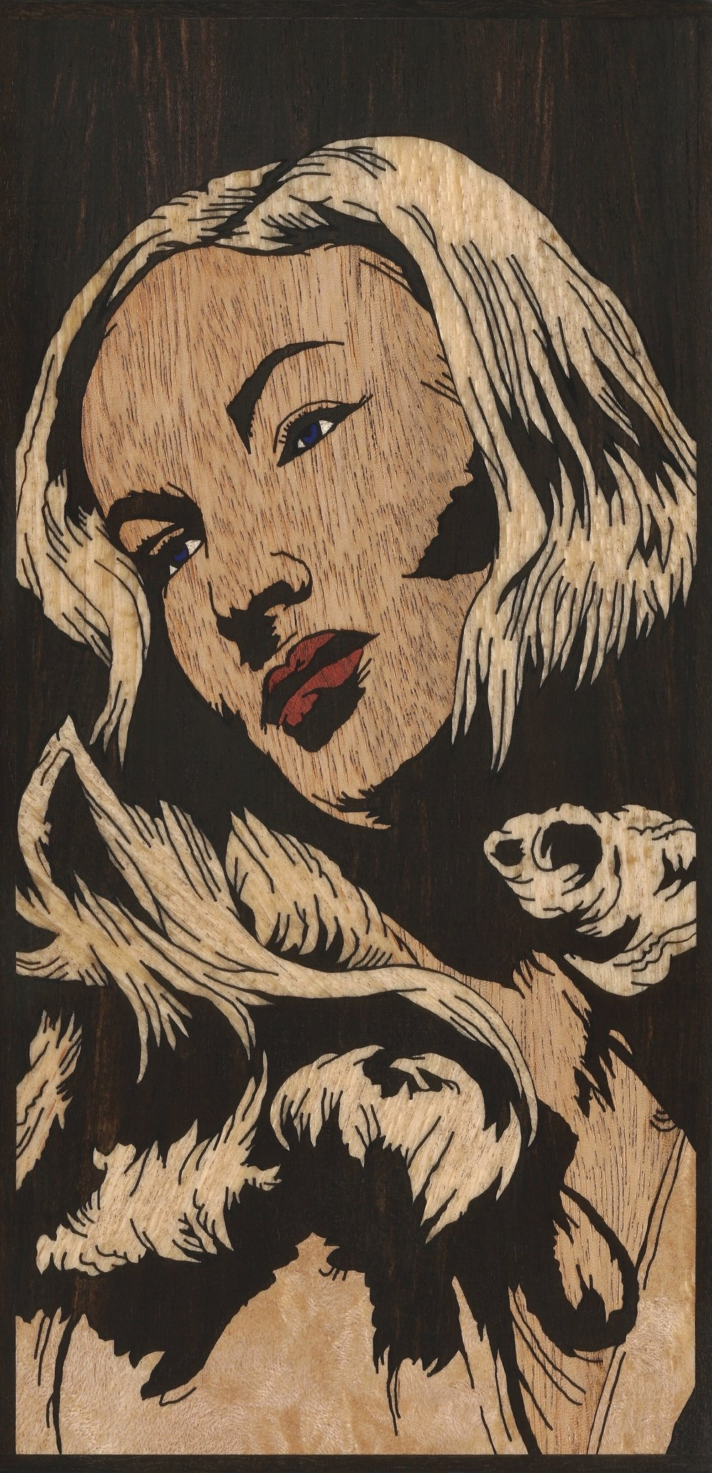 VERONICA LAKE 4 INLAY