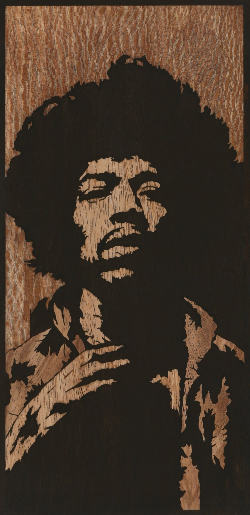 JIMI HENDRIX INLAY