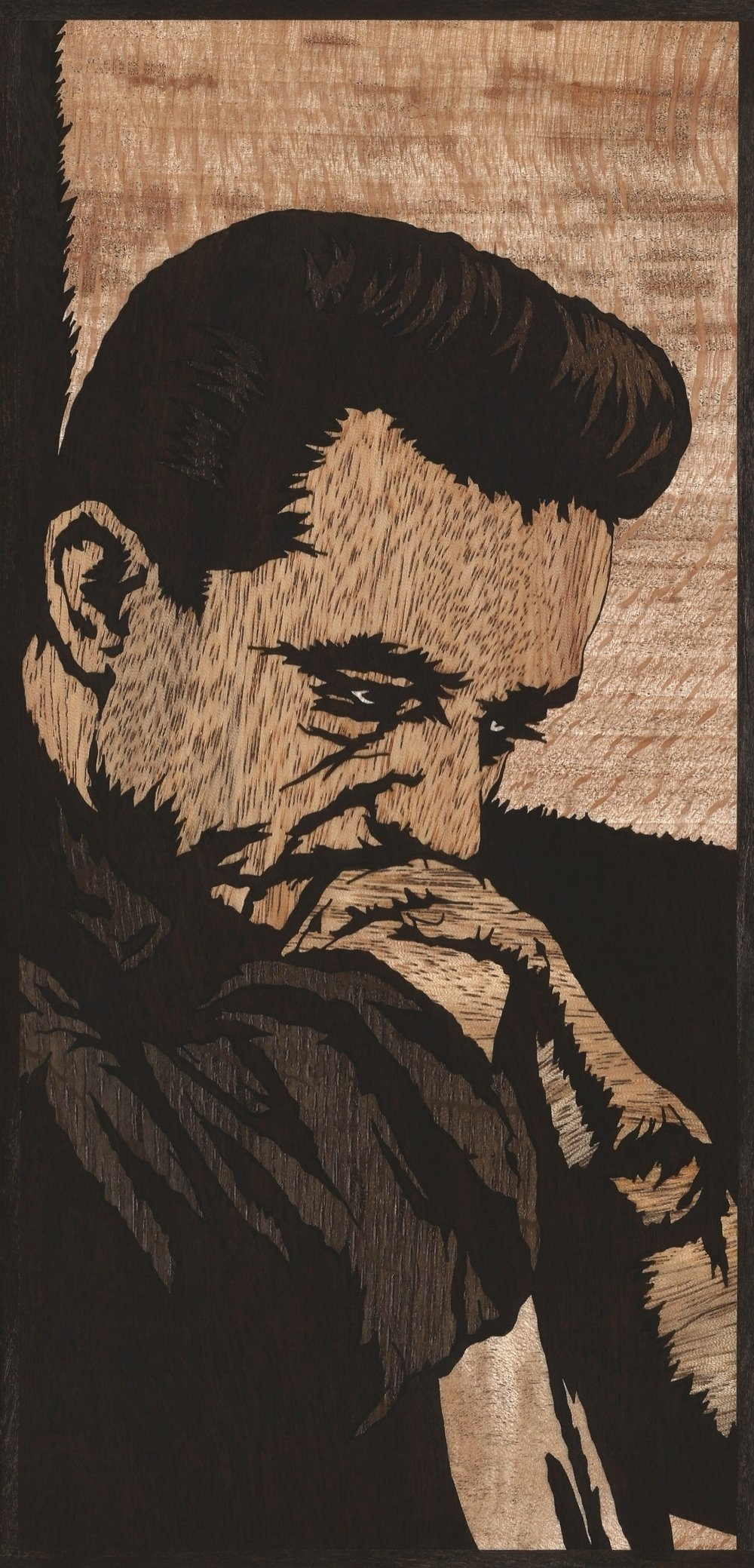 JOHNNY CASH INLAY
