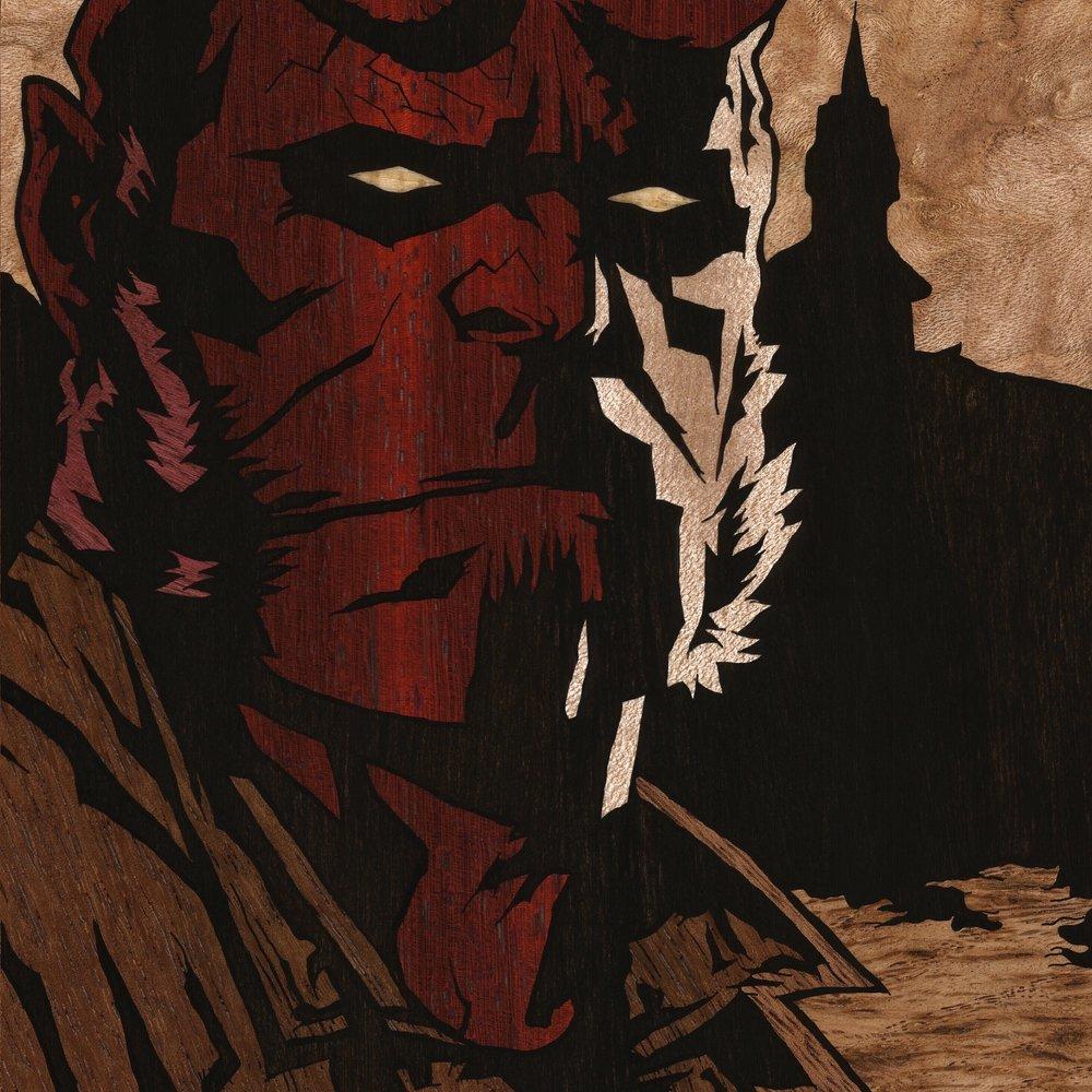 Hellboy square inlay crop