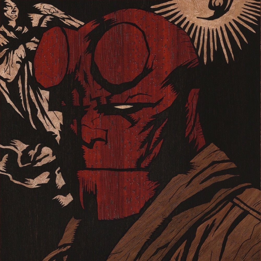 HELLBOY SQUARE 2 INLAY