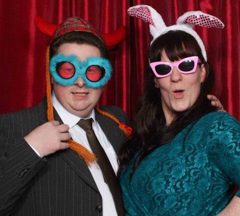 We love being guests at a wedding for a change! You'll find us on the dance floor or in the photo booth.