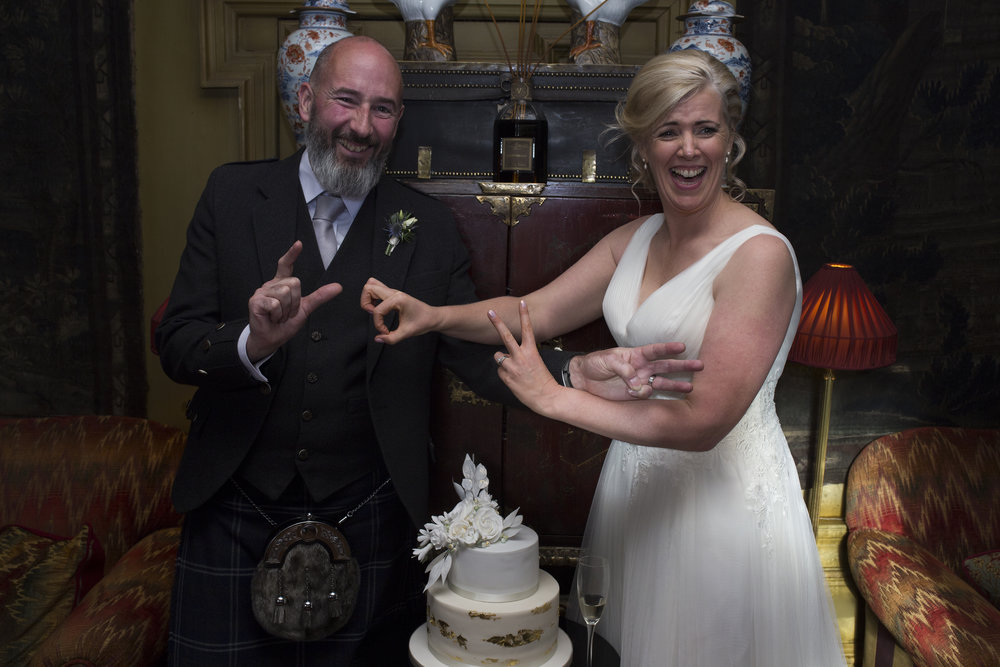 David & Jackie @ Prestonfield House