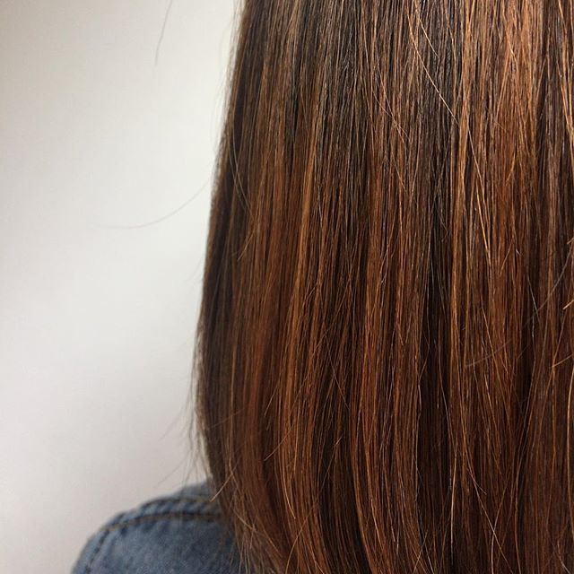 Everyone should be ginger at least once . . . #ginger #gingerhair #ombre #balayage #balayageombre #straighthair #shinyhair #wella #wellatoner #wellahair #wellacolour #healthyhair #rcnq #manchester #manchestersalon #northernquarter