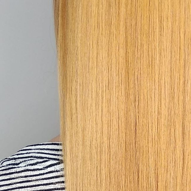 Strawberry blonde 🍓 or peach 🍑? @rcnq . . . #hairstyles #gingerhair #strawberryblonde #peachhair #hairdresser #hairsalon #manchester #manchestersalon #rcnq #wellatoner #wellacolour #bumbleandbumble #hairstory
