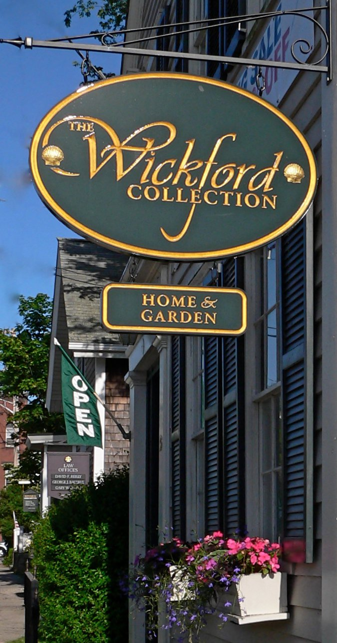 The store, The Wickford Collection, is located in Wickford, Rhode Island (RI).