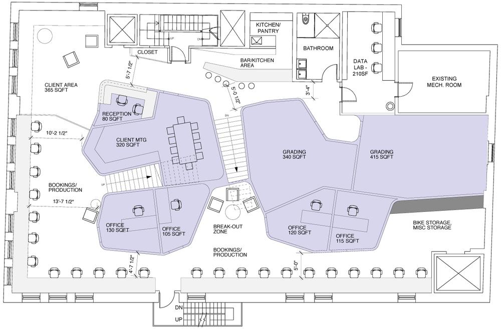 ACHA, FX Studio, Floor Plan