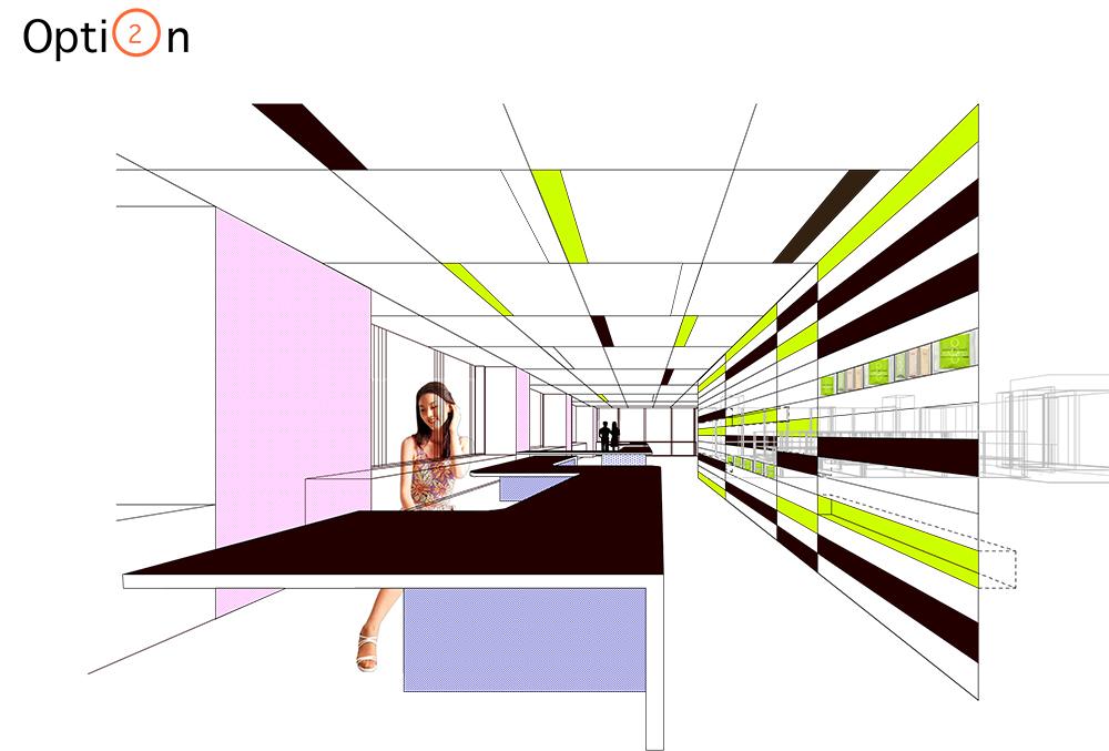 ACHA, Itochu Studio, Rendering, NYC, Ali Hocek