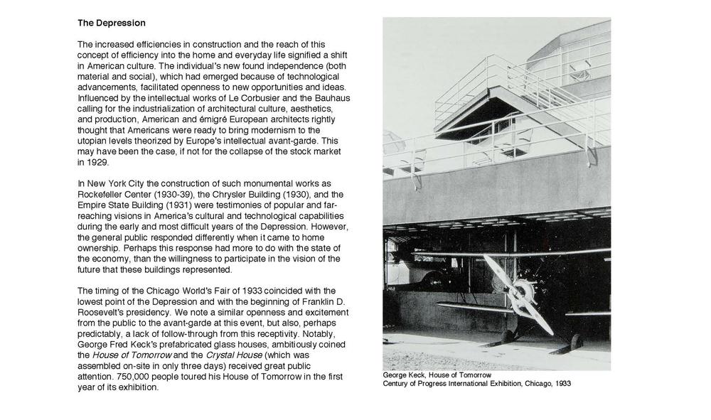 Ali Hocek, History of Prefabrication