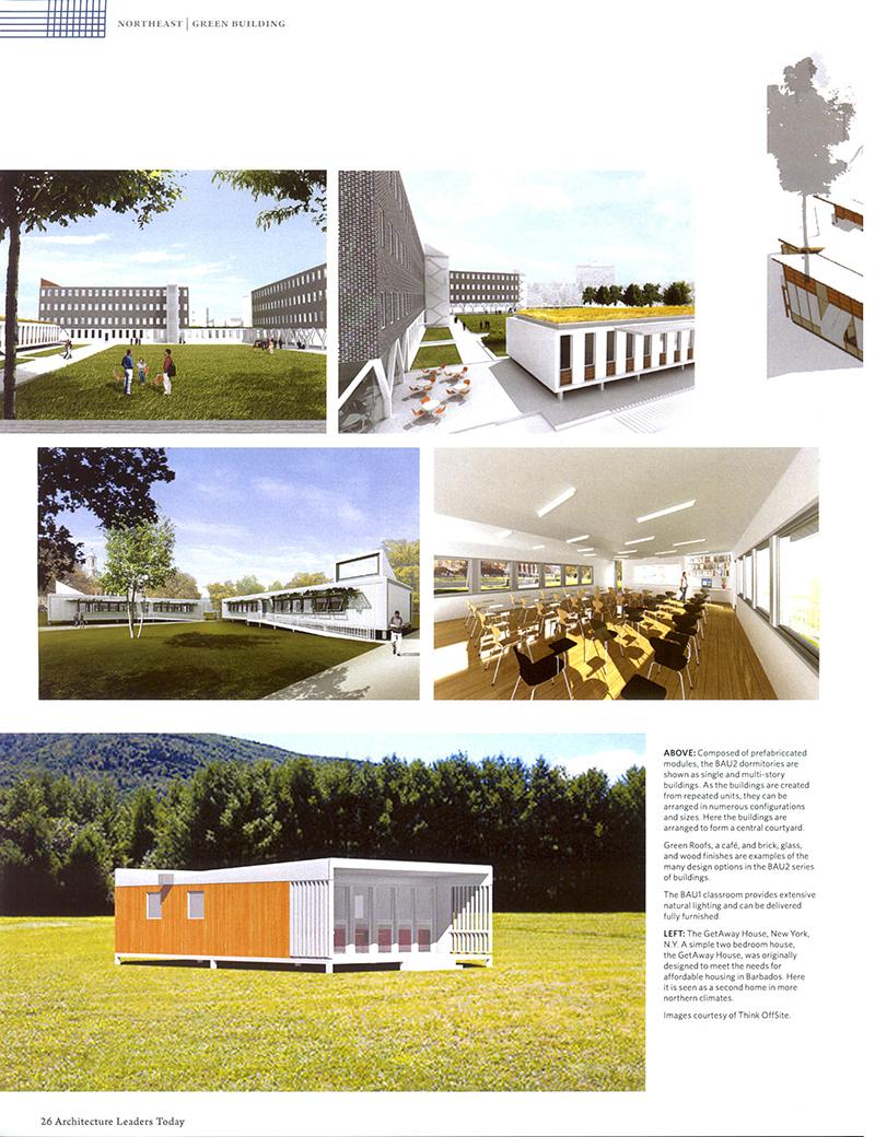 Hill, Thinking Outside the Box, Ali Hocek, ACHA, Prefabrication