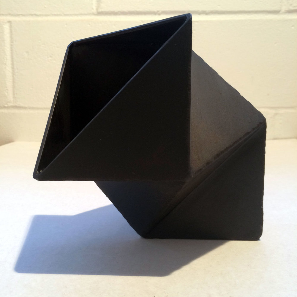 Three Cut Cubes, 2016