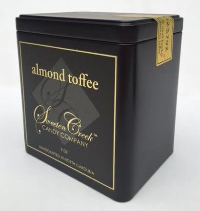 Almond 9 oz tin $21.95