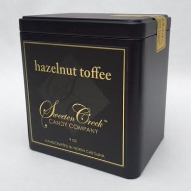 Hazelnut 9 oz tin $21.95