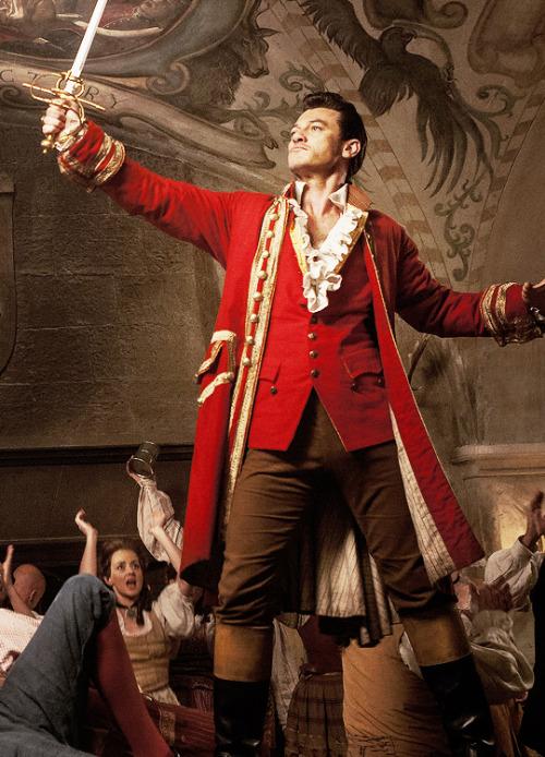 Evans as Gaston
