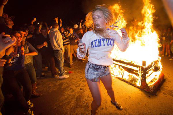 From a 2015 riot in lexington, ky