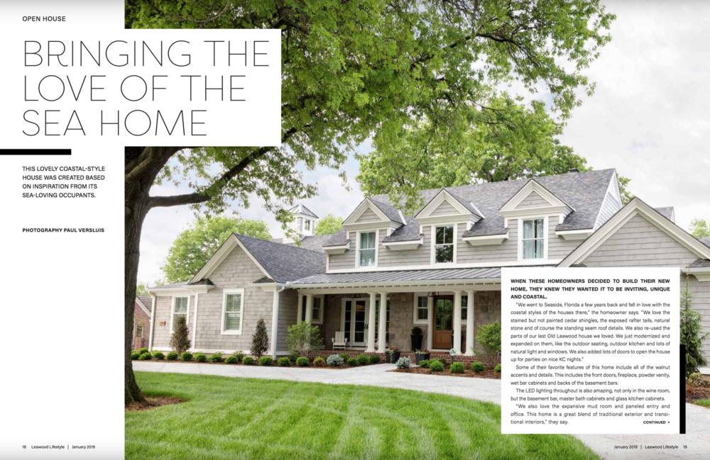 Leawood Lifestyle Magazine Feature January 2019 , Page 18