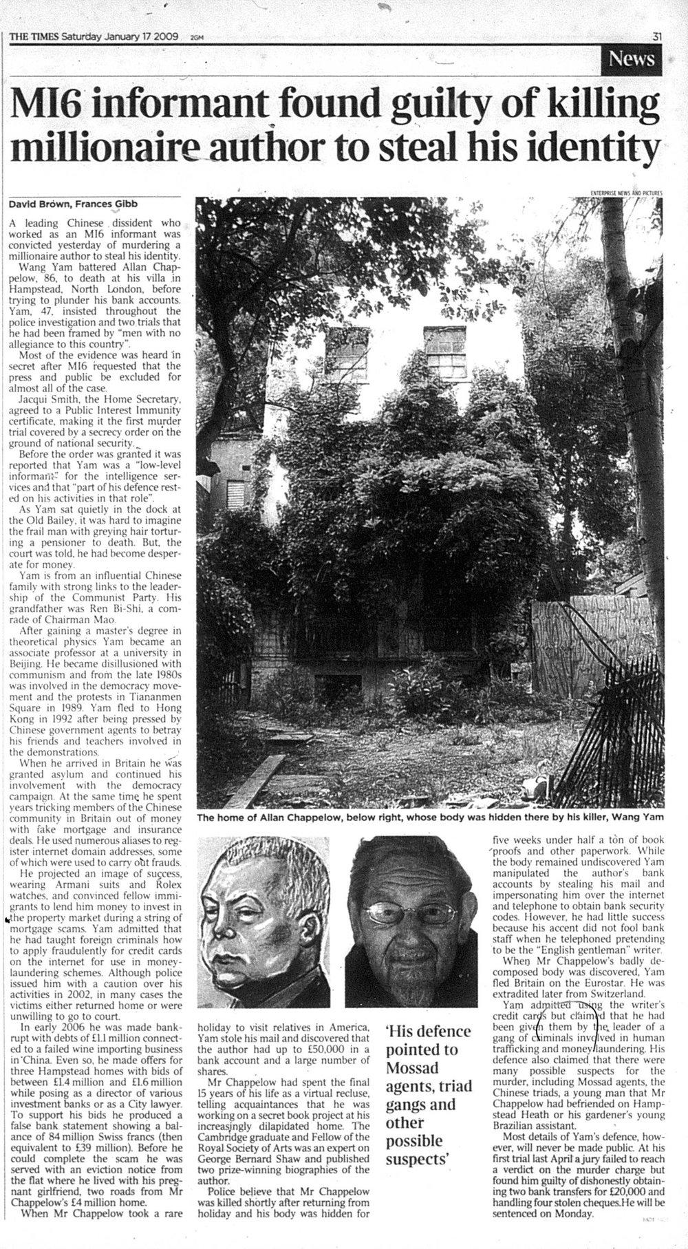 Times 17 January 2009