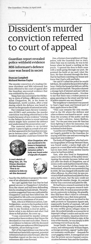 Guardian 28 April 2016