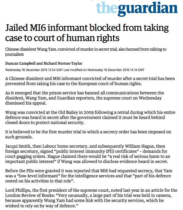 Guardian 16 December 2015