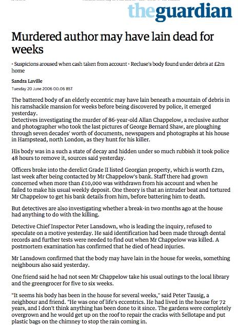 Guardian 20 June 2006