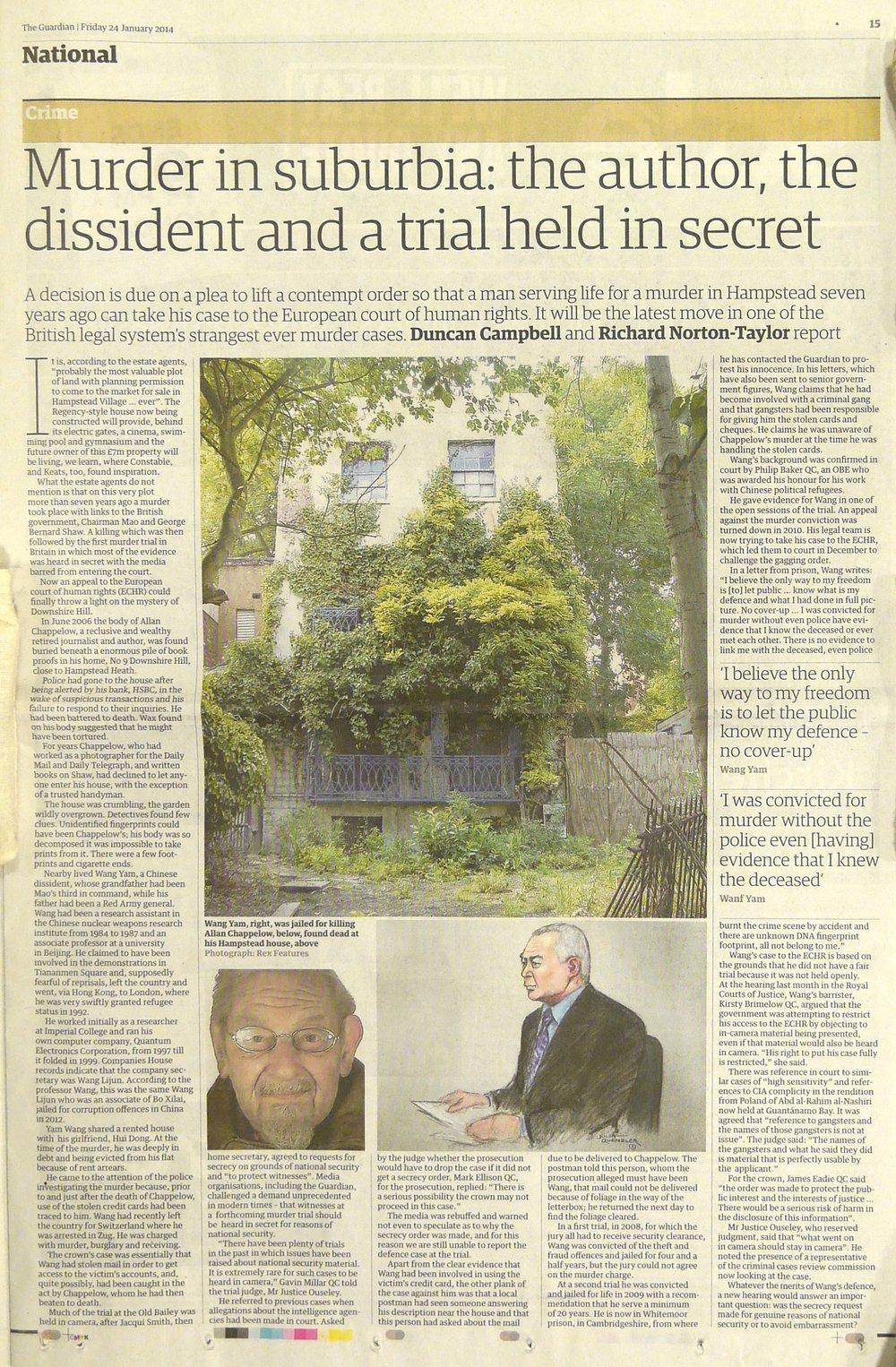 Guardian 23 January 2014