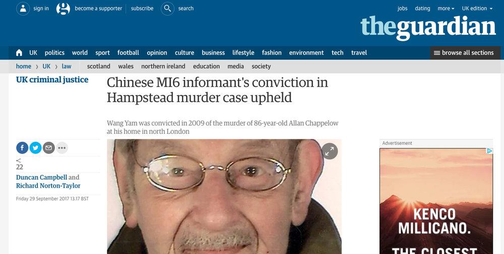 Guardian 29 September 2017