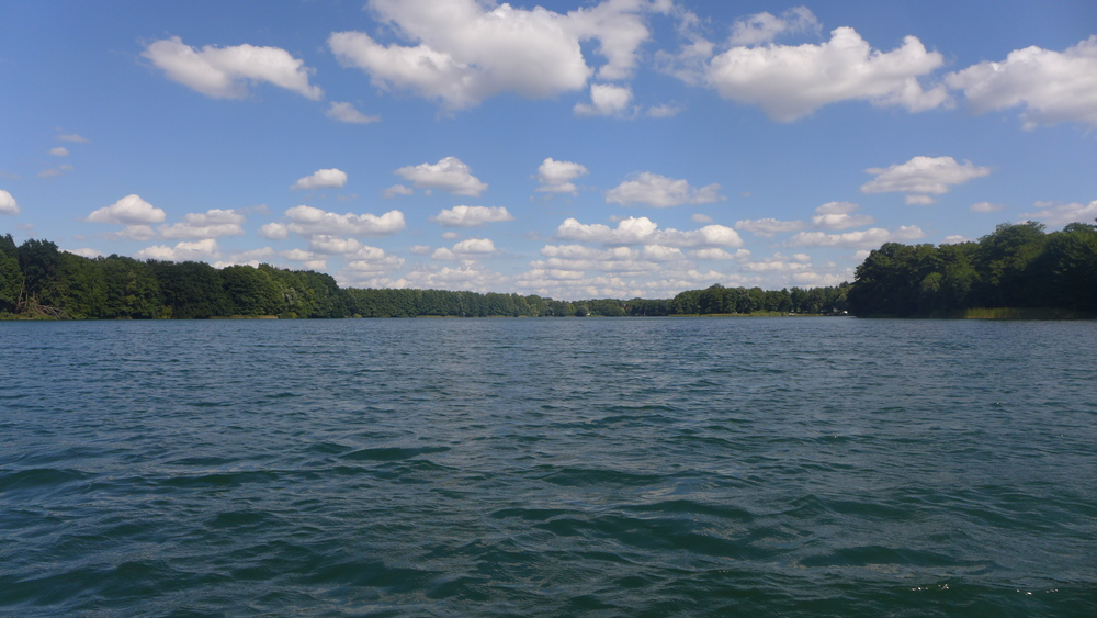 Groß Glienicke lake next to Alexander Haus