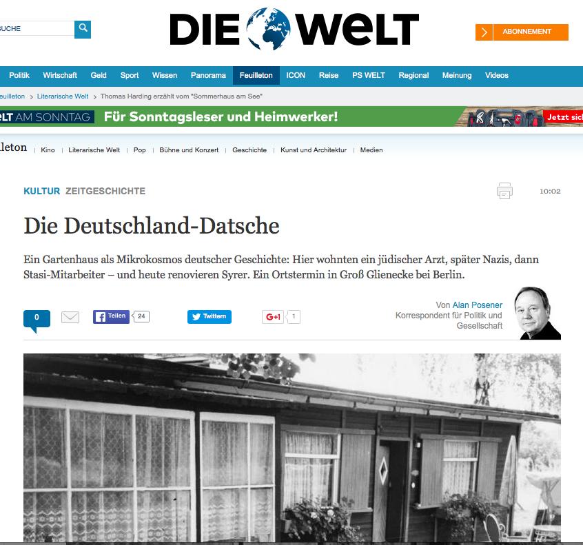 Die Welt 27 February 2016