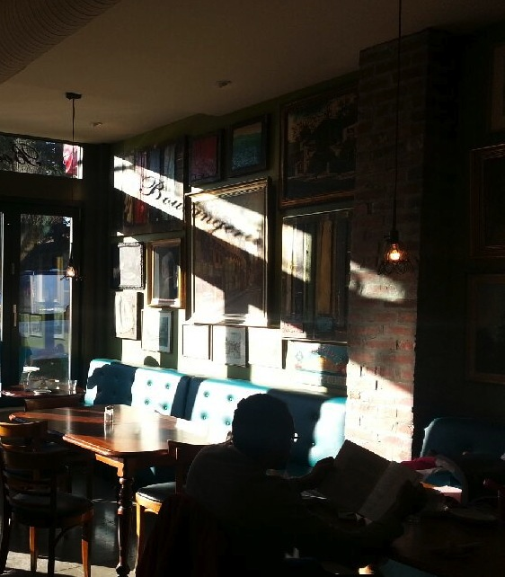 A Beautiful Sunny Vancouver Day in The Café