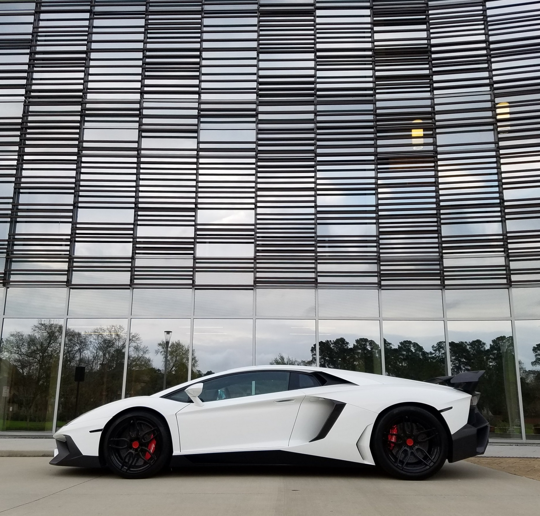 Rent A Lamborghini Aventador (SV Package) In Houston