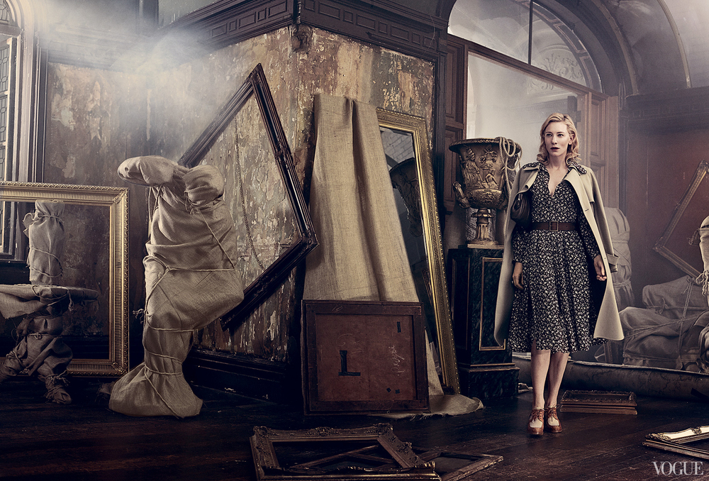 Vogue January 2014  Cate Blanchett  Photographed by Craig McDean  Styled by Tonne Goodman