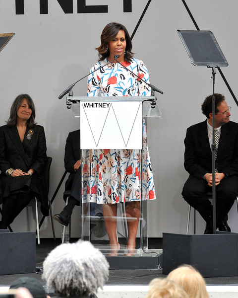 Thakoon Whitney Museum ribbon cutting, New York, NY - April 30, 2015