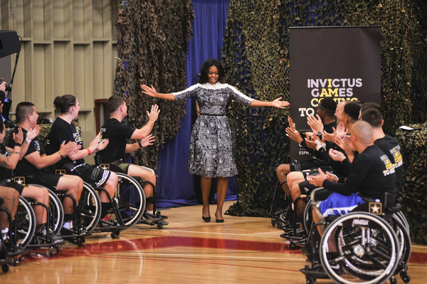Tadashi Shoji Joining Forces Invictus Games, Fort Belvoir, Virginia - October 28, 2015