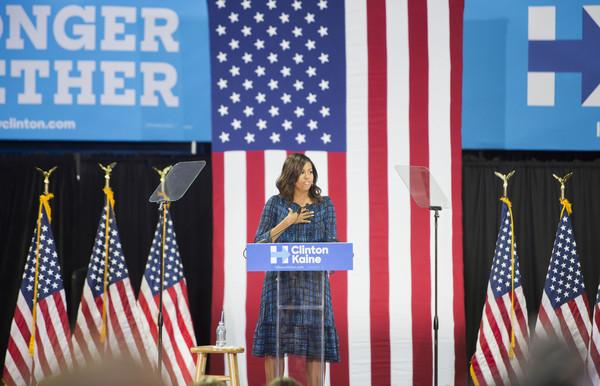 Diane von Furstenberg  Hillary Clinton campaign, Philadelphia, Pennsylvania - September 28, 2016