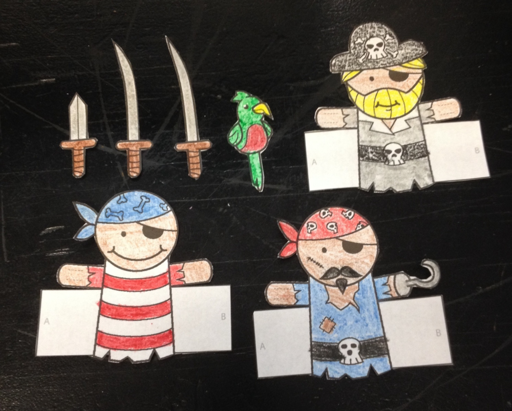 make your own pirate finger puppets  u2014 puppet showplace theater