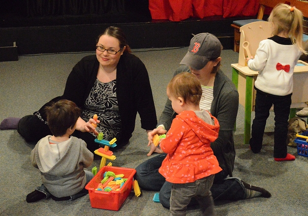 Our toys for Puppet Playtime were generously donated by Henry Bear's Park in Brookline