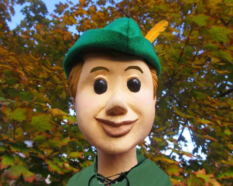 Robin Hood Glove puppet
